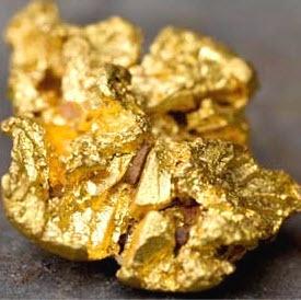 Кусочек золота